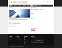 Chartered Accountant Website in Joomla using Joomlart