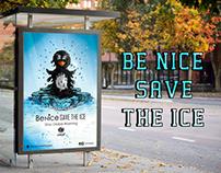 Be nice, Save the ice