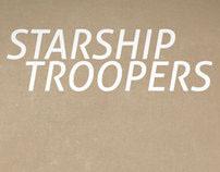 Minimal Monday - Starship Troopers Poster