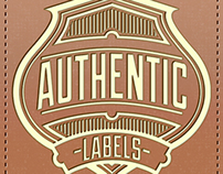 Authentic Labels Font