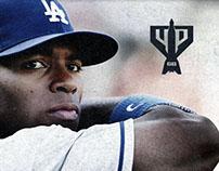 Los Angeles Dodgers' Yasiel Puig Brand Logo & Identity