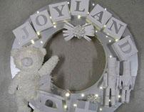 Joyland Christmas Wreath