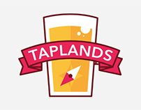 Taplands Logo Design