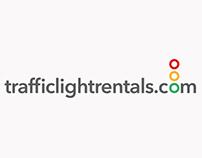 trafficlightrentals.com Logo Design