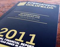International Goldfields Ltd Annual Report