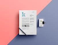 Logo Design & Blog Development For KK