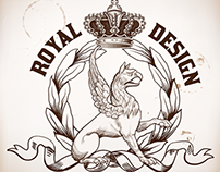 Logo, Royal design, Engraving