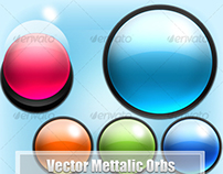Vector Metallic Orbs