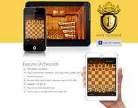 Landing Page for ChessItch iPhone App