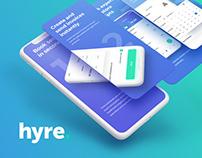 Hyre - Locum Booking App