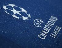 UEFA Champions League Programme Ad