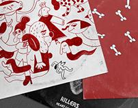The Killers. Singles' Cover Art