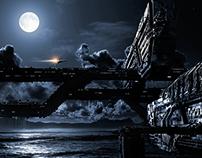 moon city . environment