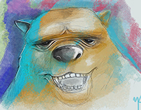 Bear/Sketch/illustrations