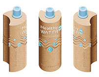 Healthy WATER | eco packaging design