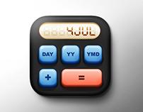 Calculator IOS Icon.