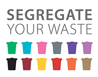 Waste Segregation Labels