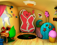 Cartoon Room