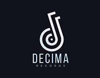 Decima Records - Branding