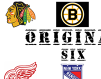 Original Six Hockey Teams
