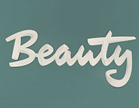 BEAUTY. A poster done with Laszlito Kovacs