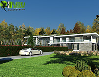 Modern Style House Design Ideas & Pictures by Yantram