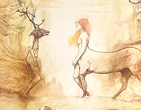 IL SIGILLO -2013-100 x 150 cm - mixed media on paper