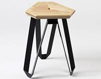 """Tape"" stool"