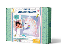 Unicorn Pillow, Arts & Crafts - GoldieBlox