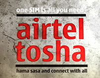 Airtel Tosha Animation