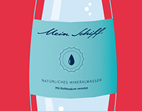 TUI Cruises ○ Etiketten für Wasserflaschen