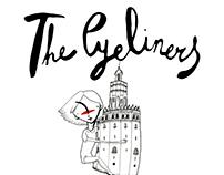 """Exposición ilustración, """"The Eyeliners conquer Seville"""""""