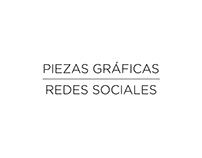 PIEZAS GRÁFICAS PARA REDES SOCIALES