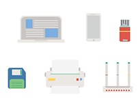 Office Products Icons