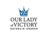 Custom Catholic Church Logo & Icon - OLV