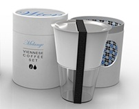 Modern Viennese Coffee Set