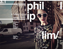 Phillip Lim - Portfolio Website Design