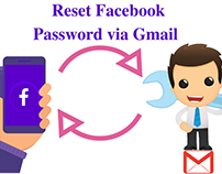 Reset Facebook Password Via Gmail