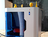 First High resolution Argentinian 3d Printer