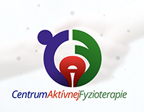 Logotype design for Active Physiotherapy Centre.