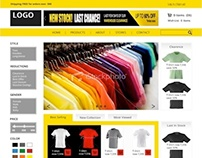 Conceptual design for webshop