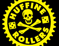 Huffine Rollers Bike Club Logo