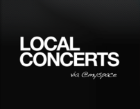 Local Concerts | Mobile App