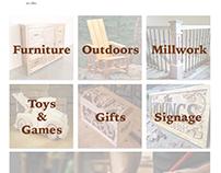 Bates & Sons Woodworking Website Design