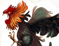 Rooster doodle-doos