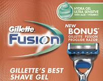 Shave Gel Packaging