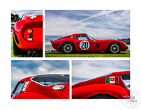 Automotive Art Montage: Tiburon 2015
