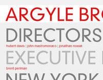 Argyle Brothers
