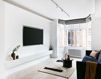 West 5 Apartment by Brosh Architects
