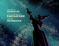 Silver Screen Society: Fantasia Poster